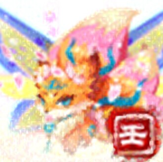 qq游戏超级九尾狐狸宝宝